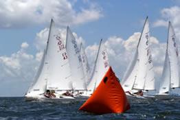 Orange Taetrahedron Racemarks