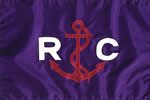Yacht Race Committee Flag - Blue