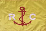 Yacht Yellow Race Committee Flag