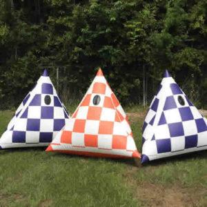 Checkered Tetrahedrons